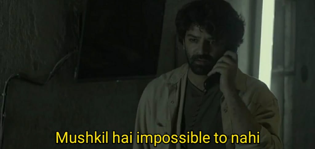 Mushkil hai impossible to nahi - Asur Meme Templates