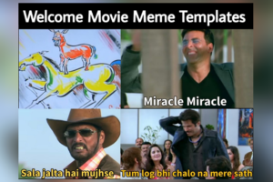 Welcome Movie Meme Templates
