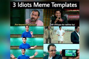 3 Idiots Meme Templates