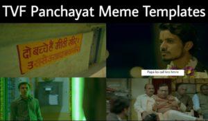TVF Panchayat Meme Templates
