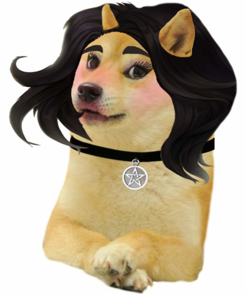Insta model doggo-Doggo meme templates