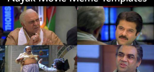 Nayak Movie Meme Templates