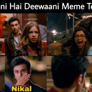Ye Jawaani Hai Deewani Meme Templates