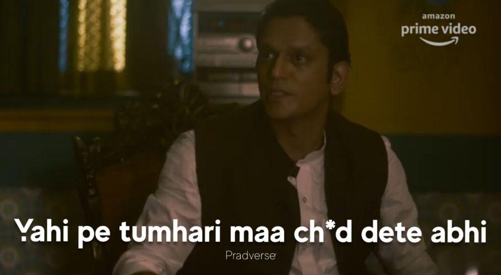 Yahi Par Maa Ch*d Dete Abhi-Mirzapur 2 meme templates-guddu bhaiya-munna bhaiya-getmemetemplates- Mirzapur season 2